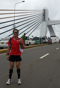 At  the Marcelo Fernan Bridge, Lapu-Lapu City