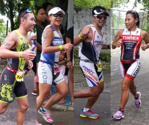 In the photo (left to right): Ramon Pestaño, Nylah Bautista, Jeff Lo & Coach Ani de Leon-Brown